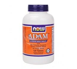 NOW - ADAM™ Superior Mens Multiple Vitamin / 120 tabs. Хранителни добавки, Витамини, минерали и др., Мултивитамини