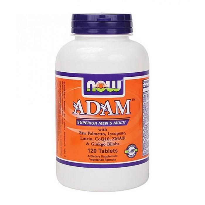 NOW - ADAM™ Superior Mens Multiple Vitamin / 120 tabs.