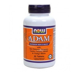 NOW - ADAM™ Superior Mens Multiple Vitamin / 60 tabs. Хранителни добавки, Витамини, минерали и др., Мултивитамини