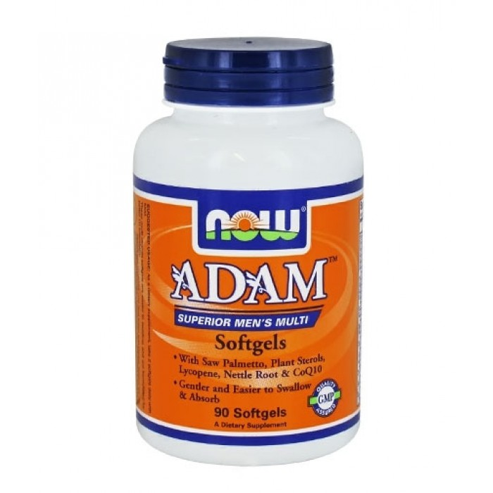 NOW - ADAM™ Superior Mens Multiple Vitamin / 90 gels.