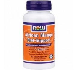 NOW - African Mango Diet Support / 60 Vcaps. Хранителни добавки, Отслабване