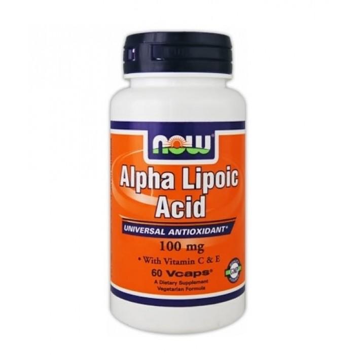 NOW - Alpha Lipoic Acid 100 mg. / 60 Vcaps.