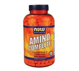 NOW - Amino Complete™ / 360 caps. Хранителни добавки, Аминокиселини, Комплексни аминокиселини