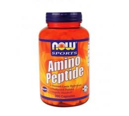 NOW - Amino Peptide / 300 caps. Хранителни добавки, Аминокиселини, Комплексни аминокиселини