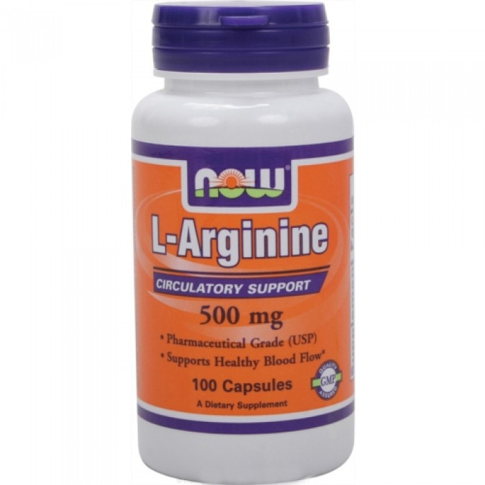 NOW - Arginine 500mg. / 100 caps.