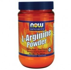 NOW - Arginine Powder / 454 gr.