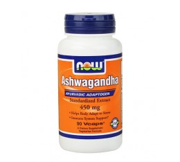 NOW - Ashwagandha Extract 450mg. / 90 Vcaps.