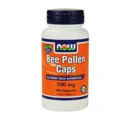 NOW - Bee Pollen 500mg / 100 caps. Хранителни добавки, Здраве и тонус
