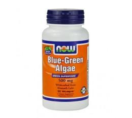 NOW - Blue-Green Algae 500mg. / 90 VCaps. Хранителни добавки, Здраве и тонус, Зелени храни