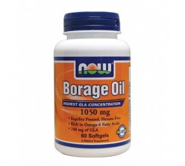 NOW - Borage Oil 1050 mg. / 60 Pills.