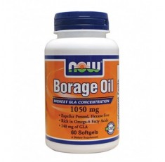 NOW - Borage Oil 1050 mg.( Пореч)) / 60 Pills.
