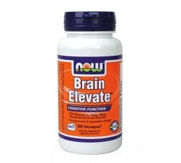 NOW - Brain Elevate / 60 caps. Хранителни добавки, Здраве и тонус, В подкрепа на мисловната дейност, В подкрепа на съня