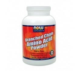 NOW - Branched Chain Amino Acids / 350 gr. Хранителни добавки, Аминокиселини, Разклонена верига (BCAA)