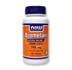 NOW - Bromelain 2000 GDU 500mg / 60caps