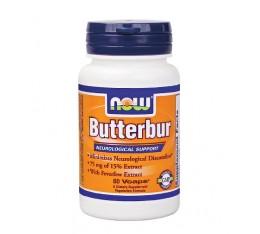 NOW - Butterbur with Feverfew / 60 VCaps. Хранителни добавки, На билкова основа