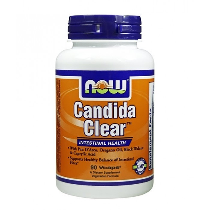 NOW - Candida Clear ™ / 90 Vcaps.