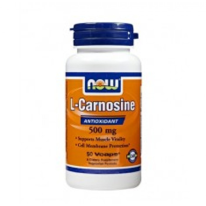 NOW - Carnosine 500mg. / 50 caps.