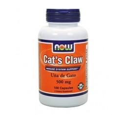 NOW - Cat`s Claw 500mg / 100 caps. Хранителни добавки, На билкова основа