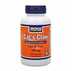 NOW - Cat`s Claw 500mg / 100 caps.
