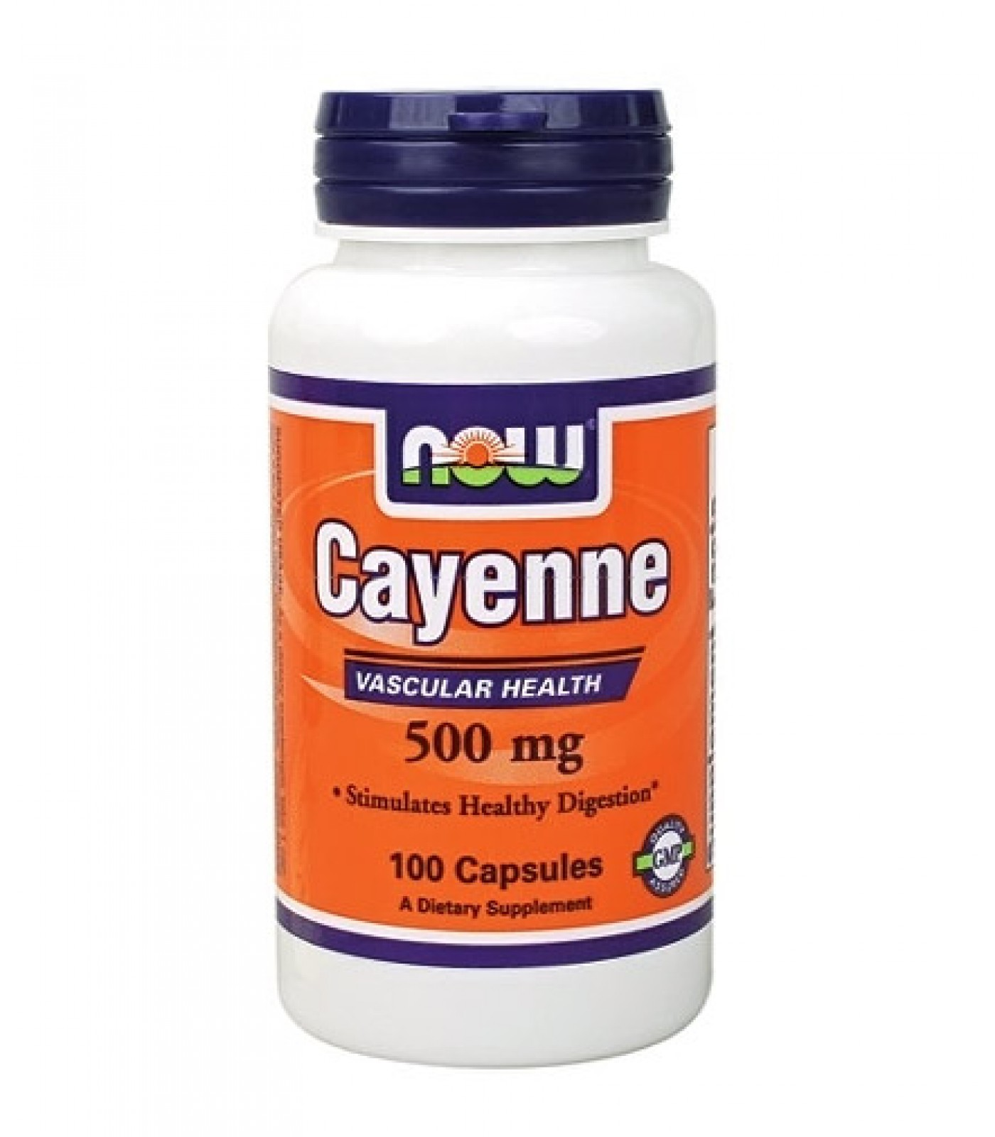 NOW - Cayenne 500mg. / 100 caps.