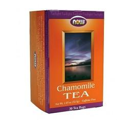 NOW - Chamomile Tea (Чай от Лайка) / 30 packs Хранителни добавки, Здраве и тонус, В подкрепа на съня
