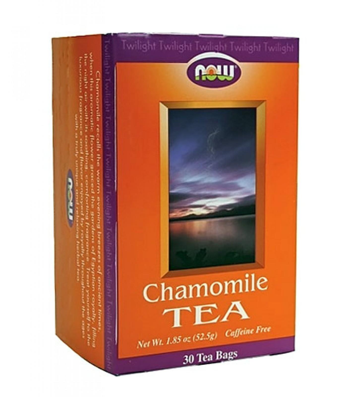 NOW - Chamomile Tea (Чай от Лайка) / 30 packs