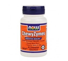 NOW - ChewyZymes / 90 tabs.