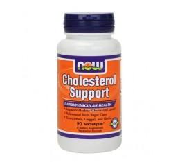 NOW - Cholesterol Support / 90 VCaps. Хранителни добавки, Здраве и тонус, Специализирани формули