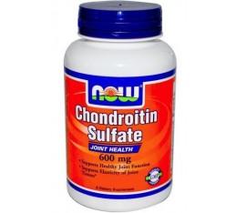 NOW - Chondroitin Sulfate 600mg. / 60 caps. Хранителни добавки, За стави и сухожилия