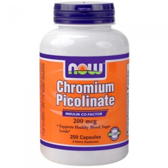 NOW - Chromium Picolinate 200mcg. / 250 caps.