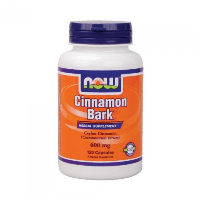 NOW - Cinnamon Bark 600mg. / 120 Caps.