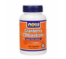 NOW - Cranberry Concentrate / 100 Caps. Хранителни добавки, Антиоксиданти