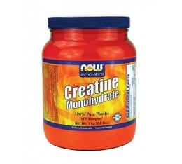 NOW - Creatine Monohydrate Powder / 1000 gr. Хранителни добавки, Креатинови продукти, Креатин Монохидрат