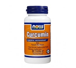 NOW - Curcumin 665mg. / 60 VCaps. Хранителни добавки, На билкова основа