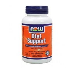NOW - Diet Support / 120 Caps. Хранителни добавки, Отслабване, Фет-Бърнари