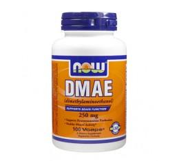 NOW - DMAE 250mg. / 100 Caps. Хранителни добавки, Здраве и тонус, В подкрепа на мисловната дейност, В подкрепа на съня