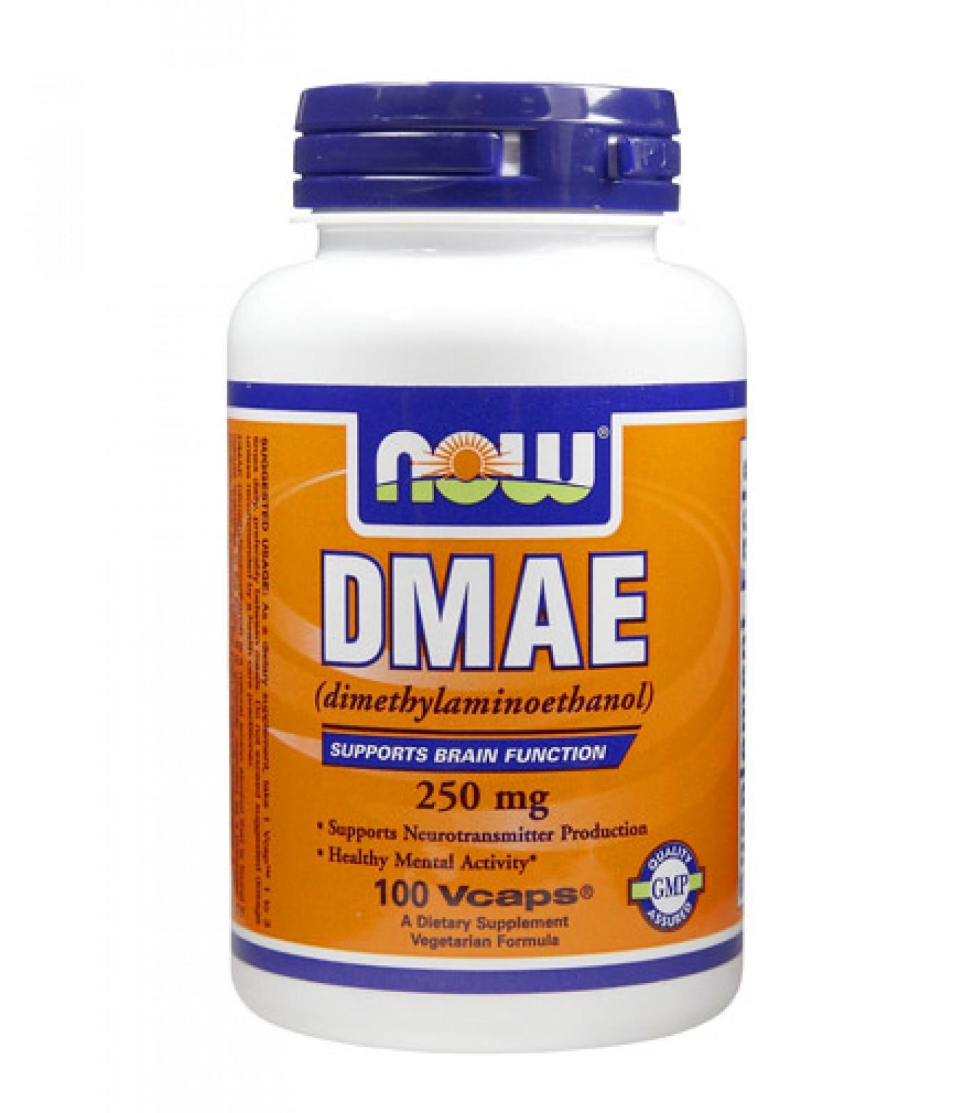 NOW - DMAE 250mg. / 100 Caps.