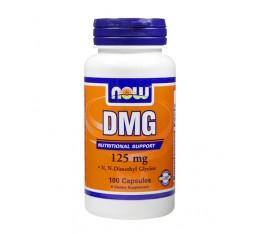 NOW - DMG 125mg. / 100 Caps. Хранителни добавки, Антиоксиданти, Витамини, минерали и др., Витамин B
