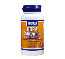 NOW - DOPA Mucuna / 90 VCaps. Хранителни добавки, На билкова основа