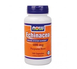 NOW - Echinacea 400mg. / 100 Caps.