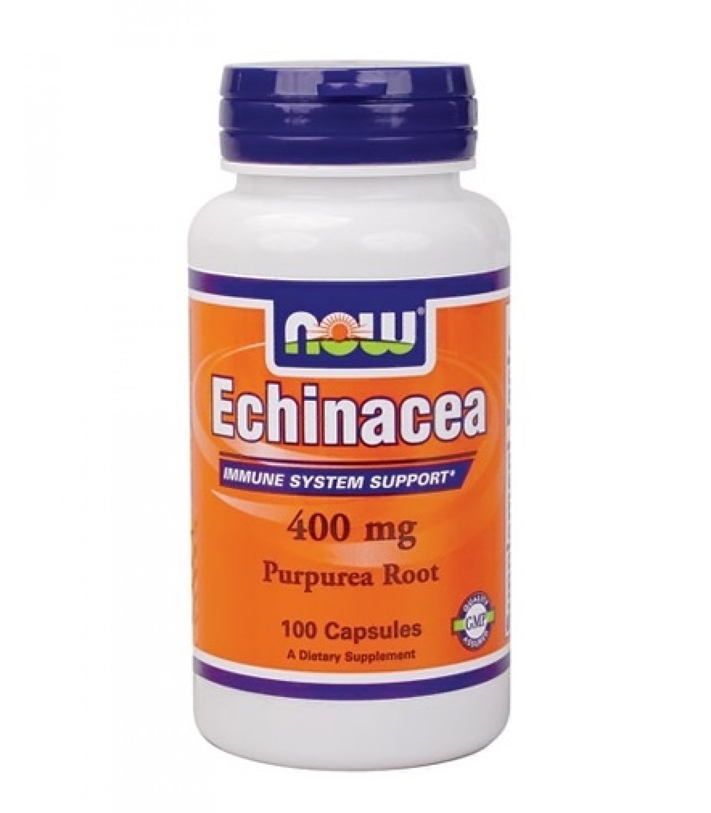 NOW - Echinacea 400mg. / 100 Caps.