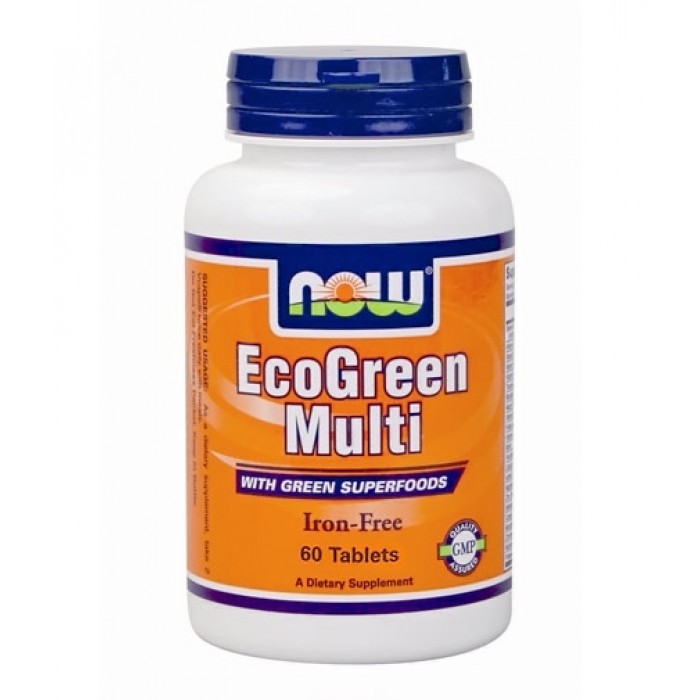 NOW - Eco-Green Multi / 60 Tabs.