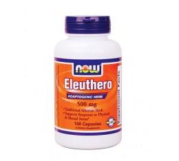 NOW - Eleuthero 500 mg. / 100 Caps. Хранителни добавки, Здраве и тонус