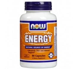 NOW - Energy / 90 Caps. Хранителни добавки, Отслабване, Фет-Бърнари