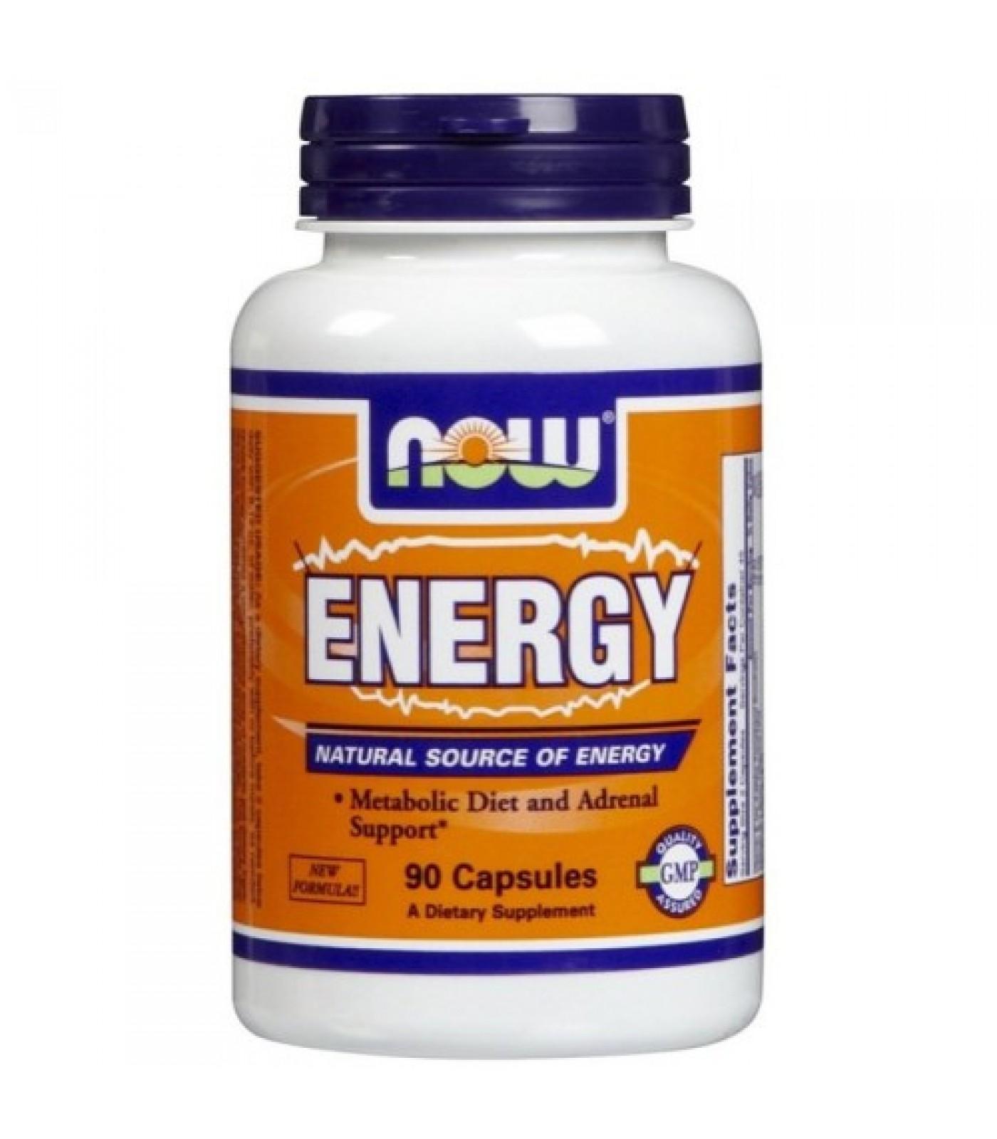 NOW - Energy / 90 Caps.