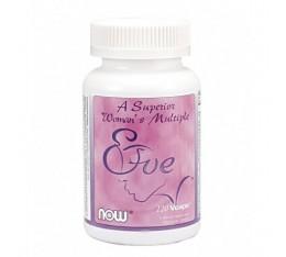 NOW - Eve Womens Multiple Vitamin / 120 VCaps. Хранителни добавки, Витамини, минерали и др., Мултивитамини