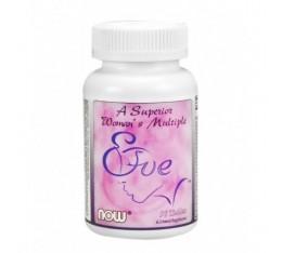 NOW - Eve Womens Multiple Vitamin / 90 Tabs. Хранителни добавки, Витамини, минерали и др., Мултивитамини