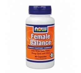 NOW - Female Balance / 90 Caps. Хранителни добавки, Здраве и тонус, Формули за жени