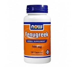 NOW - Fenugreek 500mg. / 100 caps. Хранителни добавки, На билкова основа