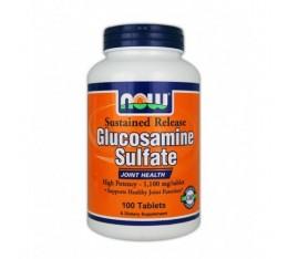 NOW - Glucosamine Sulfate / 100 Tabs. Хранителни добавки, За стави и сухожилия